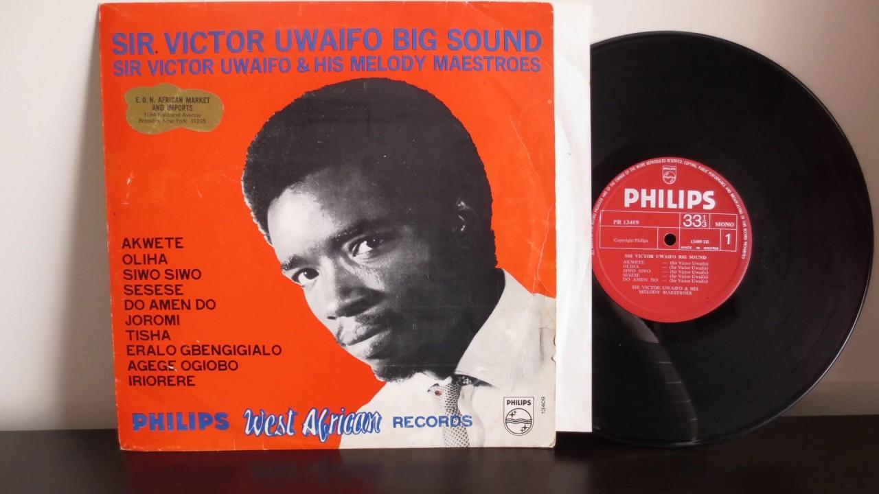 Download Sir Victor Uwaifo & His Melody Maestroes – Uwaifo Big Sound (1969)