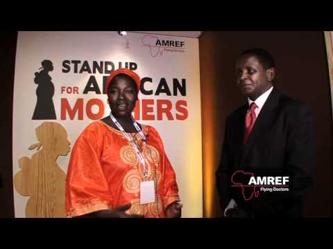 Esther Madudu, uganda midwife trained by AMREF at the Women's Forum