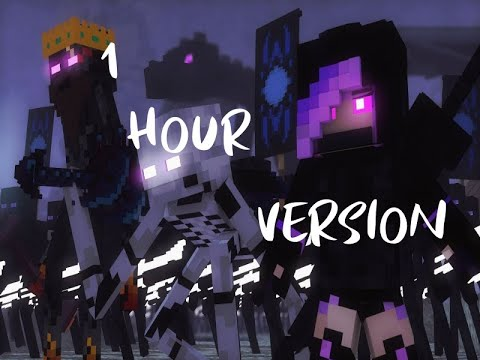 "Rainimator - ""Ender Wish"" - A Minecraft Original Music Video   1 Hour"