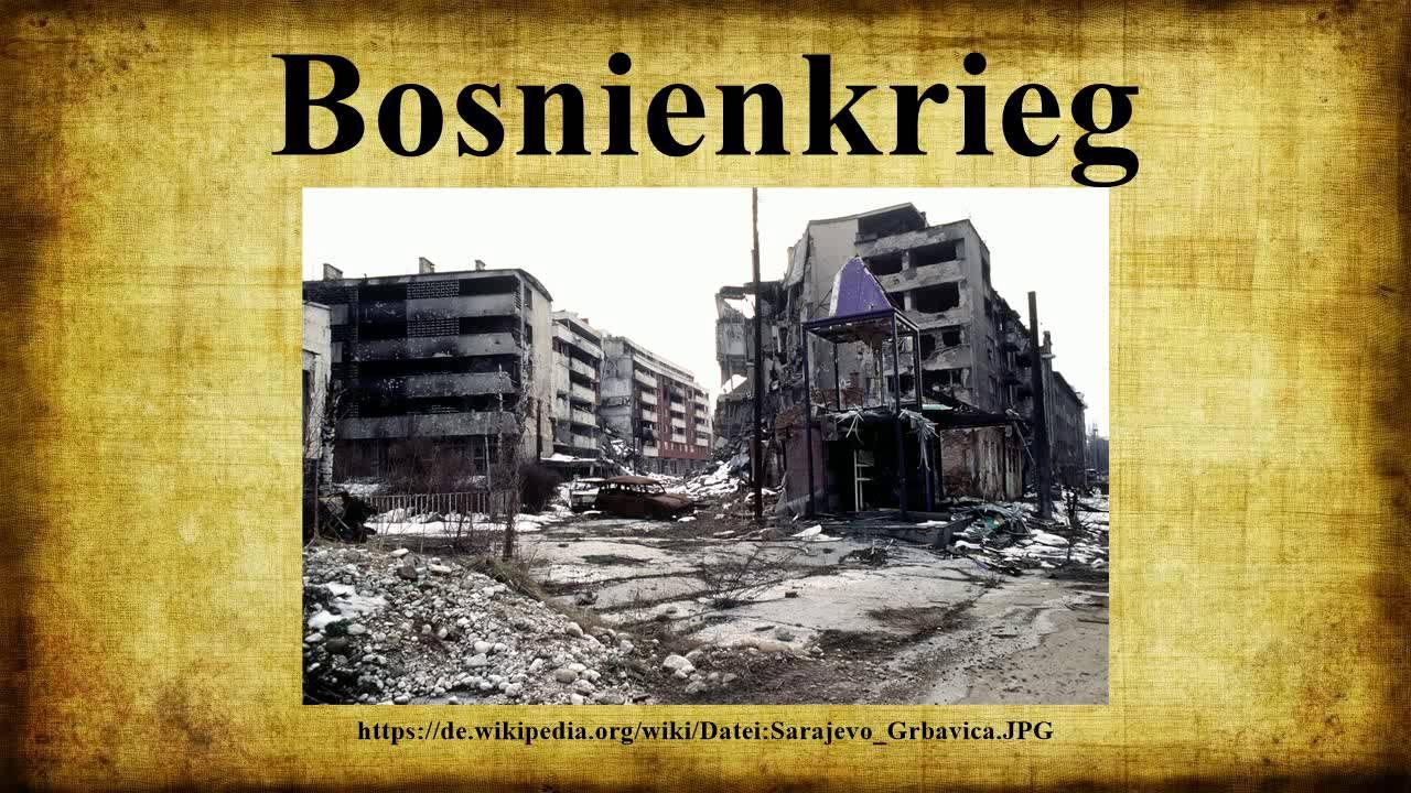 Bosnienkrieg youtube for Bilder fa r treppenhaus