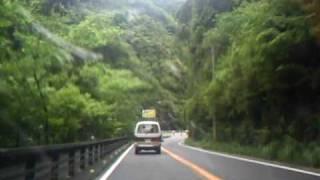 四国キャンプツーリング2010年 5/27(木) 鳴門から徳島へ徳島から三好...