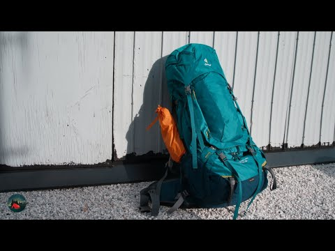 Detailed Backpack Review - Deuter Aircontact Pro 65 + 15 SL