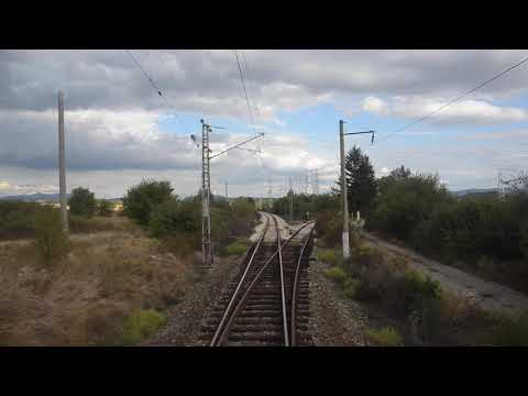 Cabview: 46 037 with freight train Iana - Saranci