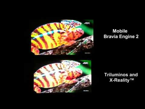 Mobile Bravia Engine 2 vs X-Reality ( TRILUMINOS )