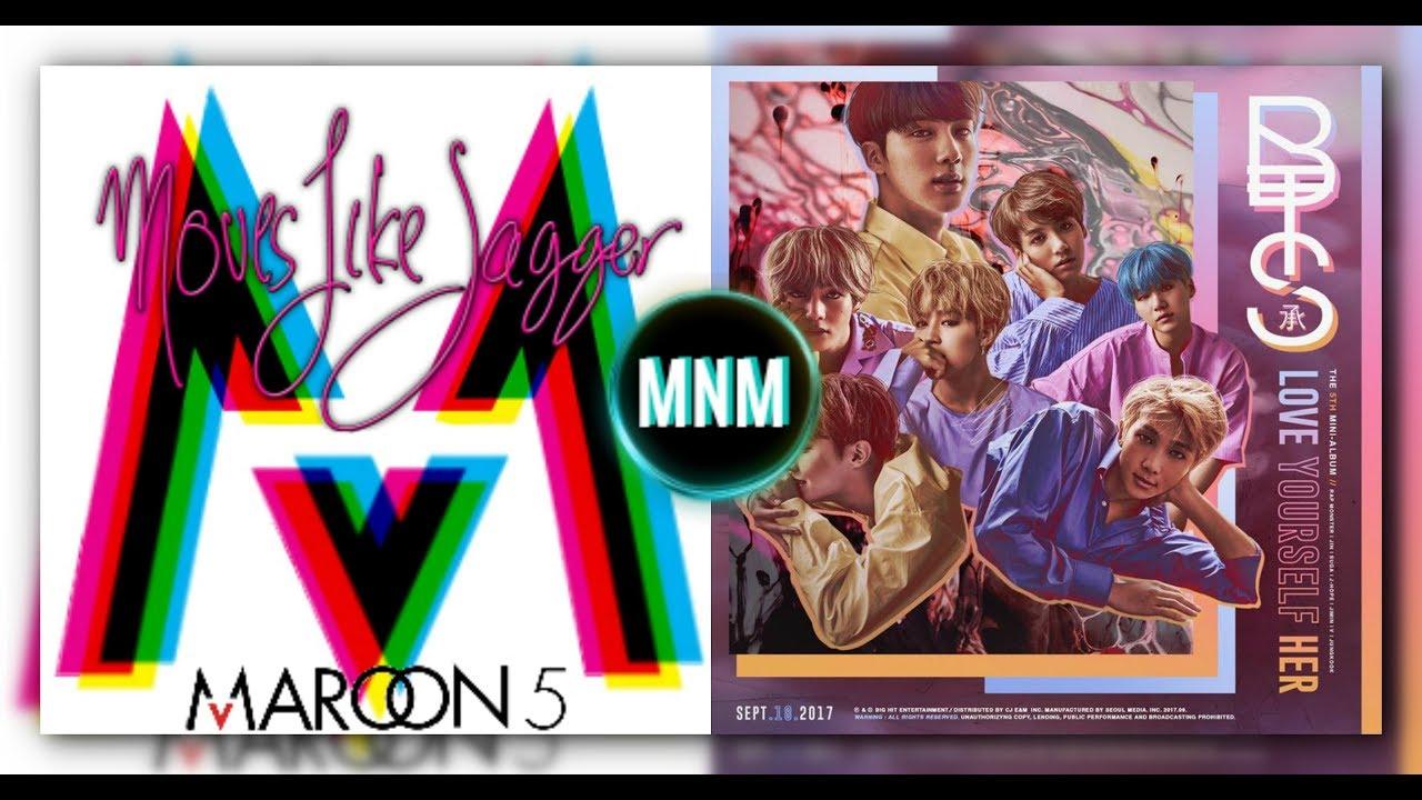 Jagger DNA | MASHUP - BTS and Maroon 5