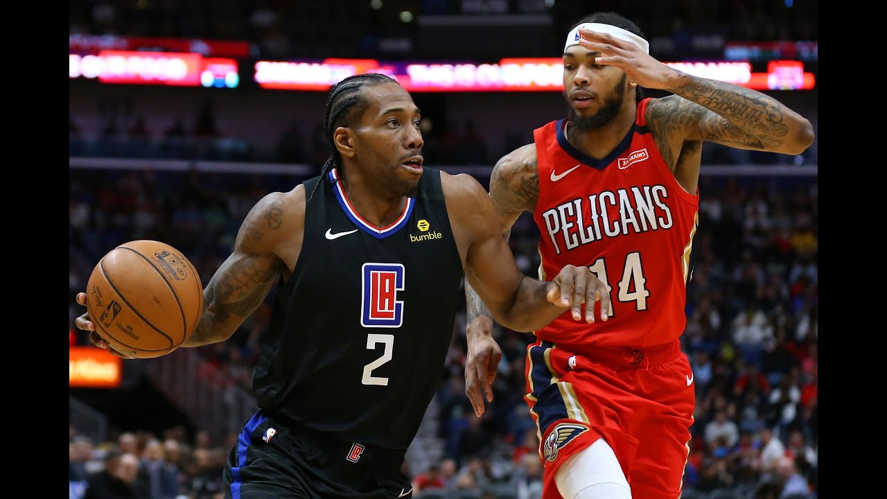 Clippers vs. Pelicans Final Minute of 4th Quarter - YouTube
