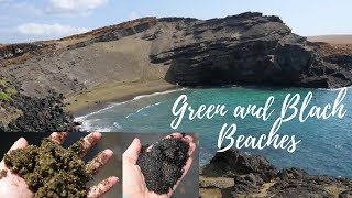 Big Island of Hawaii - Papakolea Green Sand Beach and Punalu