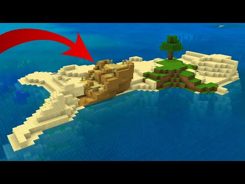 25 NEW SURVIVAL ISLAND SEEDS For Minecraft Bedrock Edition! (PE, Xbox, PS4, Switch & W10)