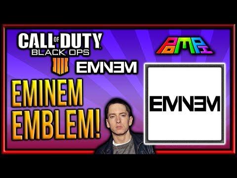 EMINEM LOGO EMBLEM: COD BO4 Eminem Logo Emblem Tutorial! EASY EMBLEM! Bo4 Emblem Tutorials! PomPi