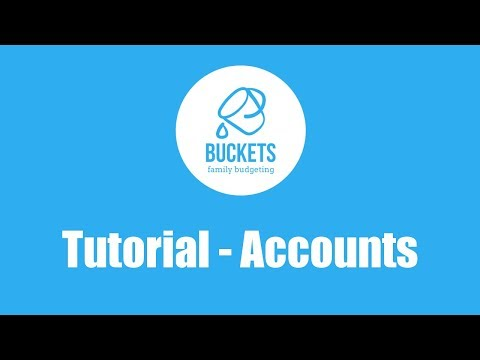 Buckets Tutorial 1: Accounts