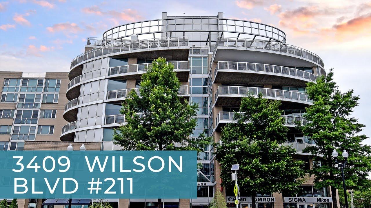 ARC 3409 #211, Wilson Boulevard, Arlington VA 22201 Listing Video