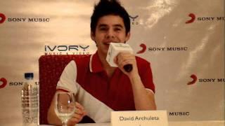 David Archuleta Forevermore Album Presscon - Will He Stay Longer In The Philippines?