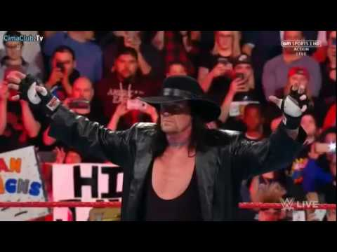 """The Undertaker introduces Roman Reigns to his """"yard"""": Raw, March 27, 2017"""