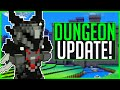 THE DUNGEON UPDATE! - Cube World News