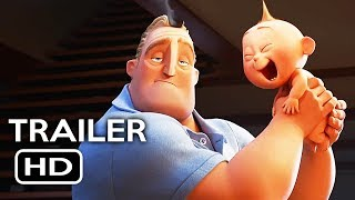 Incredibles 2 Official Trailer #1 (2018) Disney Pixar Animated Movie HD