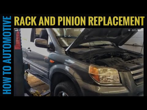 How to Replace the Rack and Pinion on a 2008 Honda Pilot