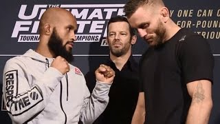 The Ultimate Fighter Finale: Media Day Faceoffs