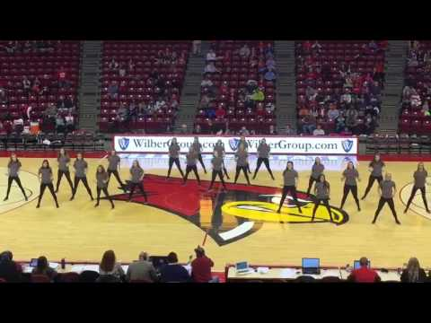 Illinois State Redline Express Dance Team- HIP HOP 2016