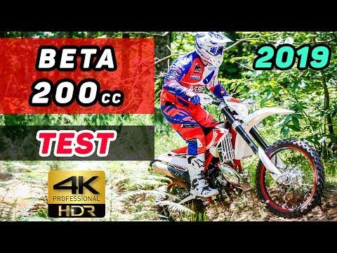 2019 BETA RR 200cc 2 Stroke TEST
