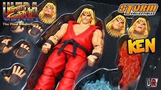 Storm Collectibles KEN Street Fighter 2 Review BR / DiegoHDM