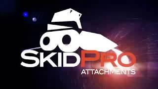 Skid Pro Skid Steer Stump Bucket Grapple