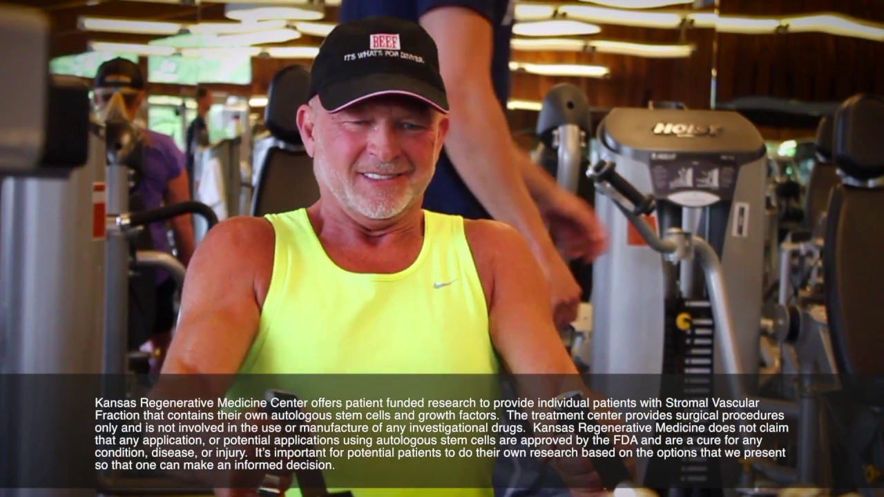 After multiple surgeries didn't help, Dee decided to try stem cell therapy and it changed his life.