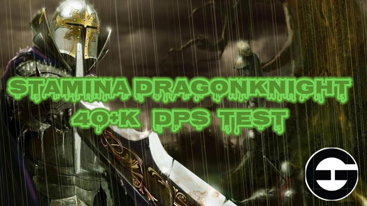 Eso: Redgaurd Stamina Dragonknight 40k Dps Test - Clockwork City