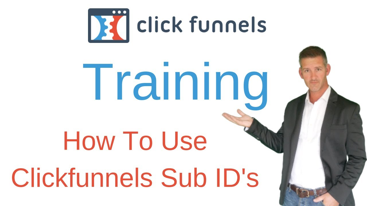 Clickfunnels Affiliate Program Training - How To Use Clickfunnels Sub ID's