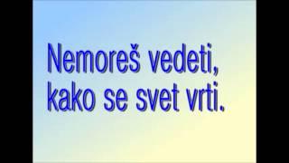 Modrijani - Hvala za sanje (besedilo)
