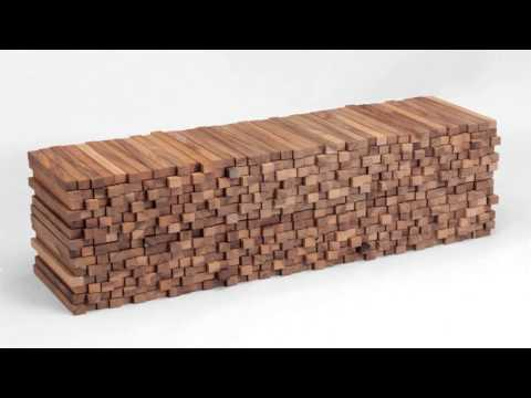 Experimental furniture woodenheap walnut cabinets by boris dennler homesthetics inspiring ideas for
