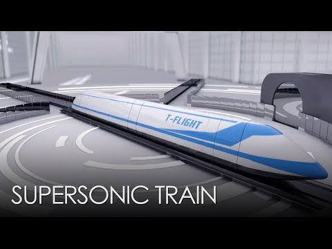 China is Building a Supersonic Train