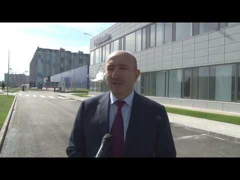 Окончание строительства нового офиса «Вебасто Рус»
