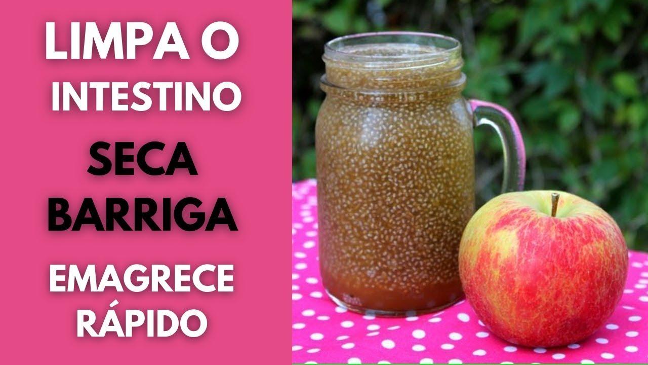 Bebidas para bajar de peso con chia