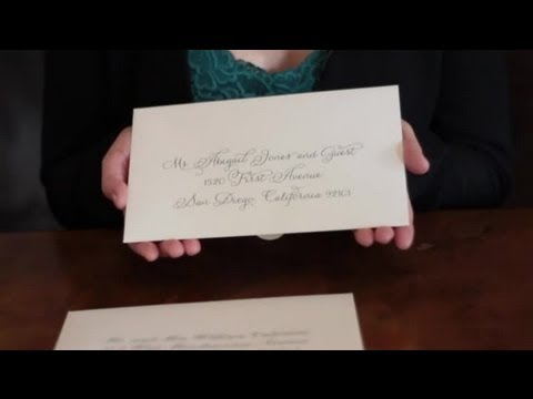How to Address Wedding Invitations & Examples : DIY ...