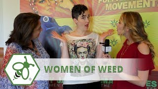 Women Of Weed with Windy Borman at Cannabis Film Festival In Palm Springs