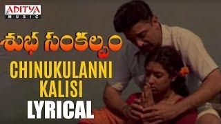 Chinukulanni Kalasi Lyrical | Subha Sankalpam Songs | Kamal Haasan, Aamani | M. M. Keeravani