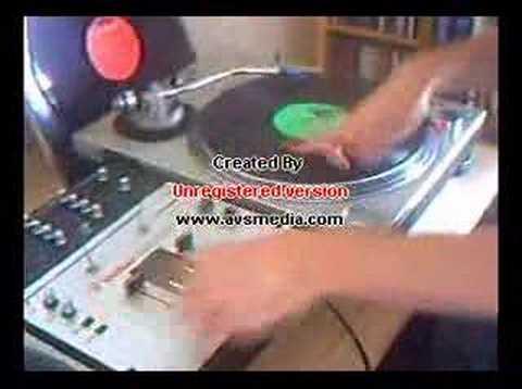 DJ CLEAR SCRATCH DEMO