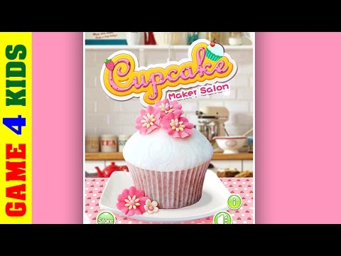 Cupcake maker Android Game for Kids- Create your own cupcake. Cooking game