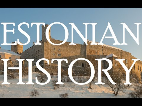 History of Estonia - Timeline of Events (1918 - 2016)