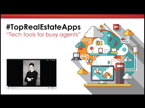 Real Estate Apps and the Top Tech tools!