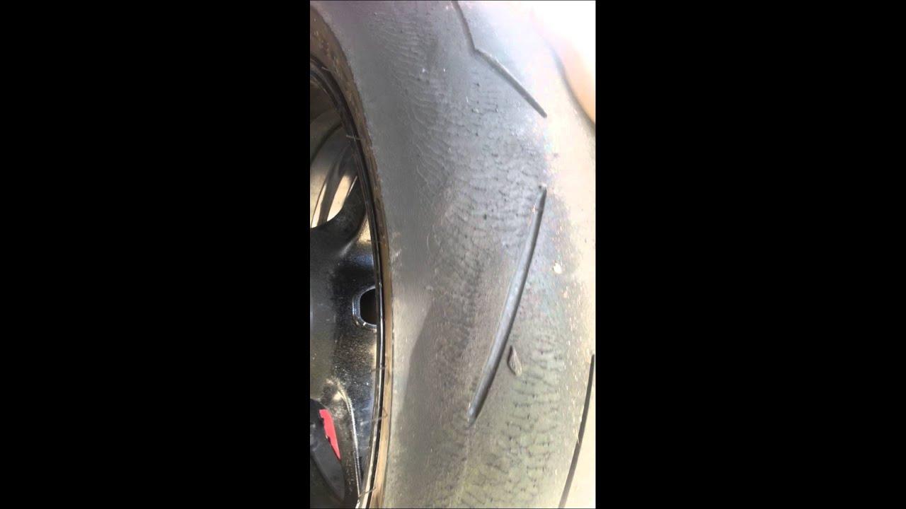 strange tyre wear pirelli supercorsa sc2 youtube. Black Bedroom Furniture Sets. Home Design Ideas