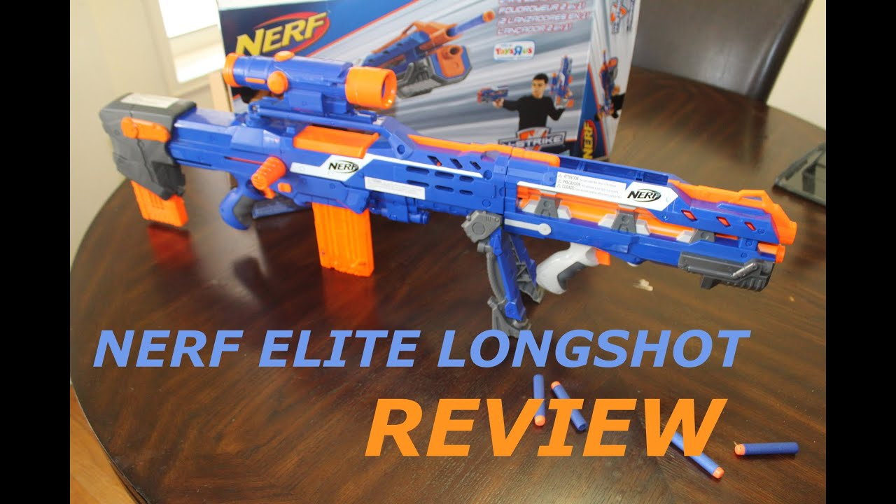 Nerf ZombieStrike Longshot CS-12 - Overview - YouTube