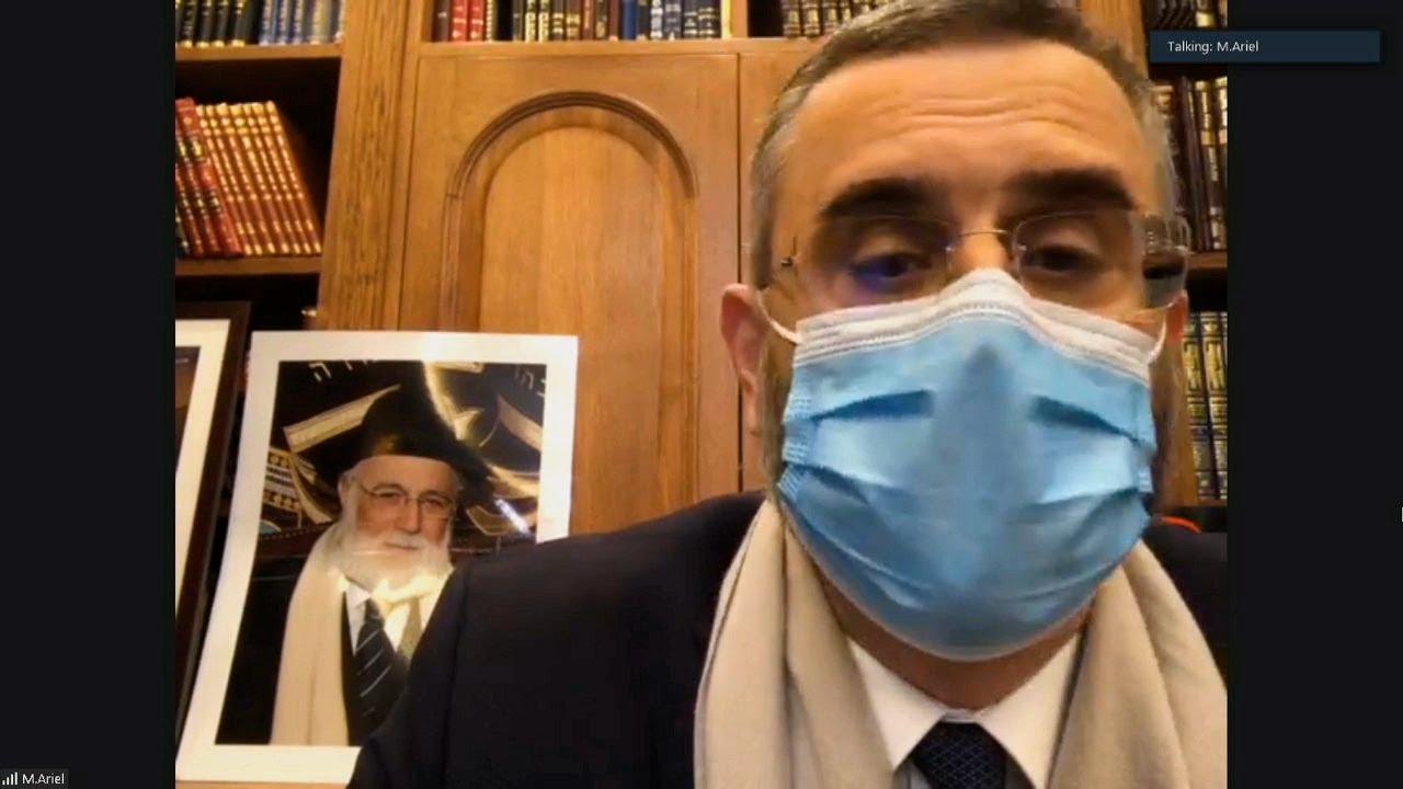 Hommage au Rabbi David Messas - L'invité du 6 novembre