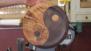 Segmented Yin Yang Platter