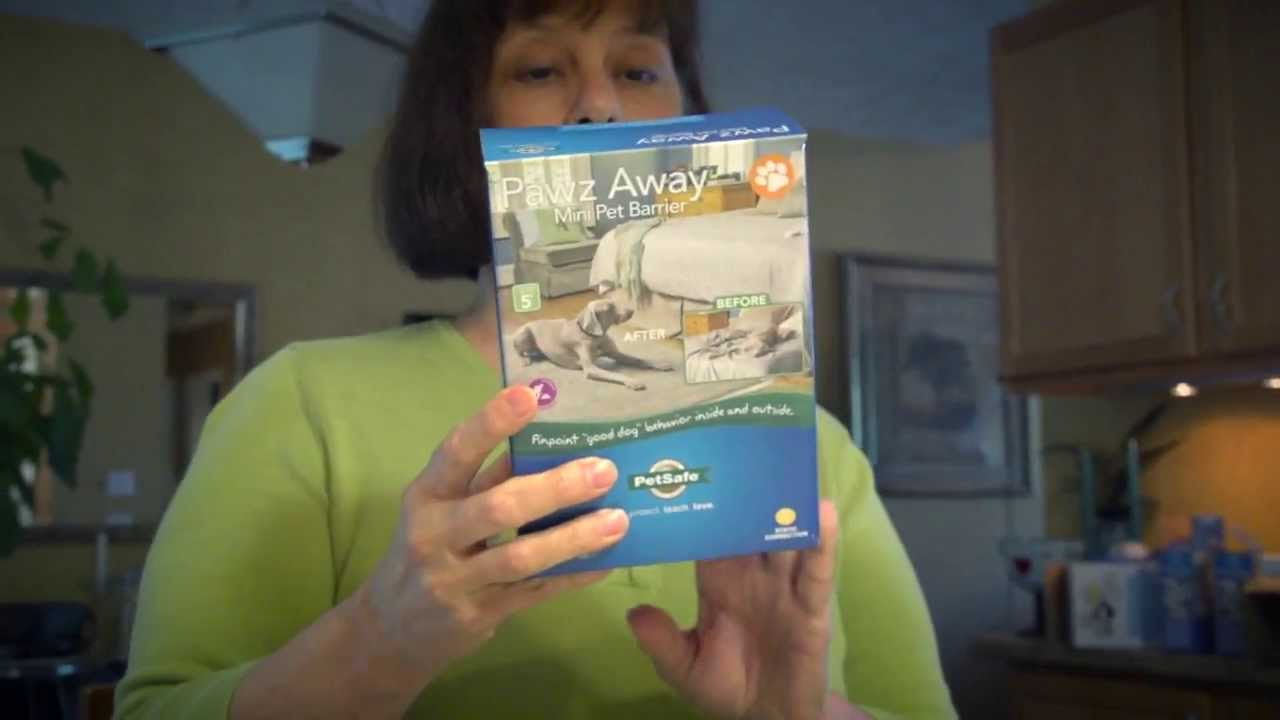 PetSafe® Pawz Away Mini Pet Barrier - YouTube