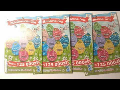 Wielkanocna Gra Premiera - Ile wygrałem? #58 #zdrapki lotto
