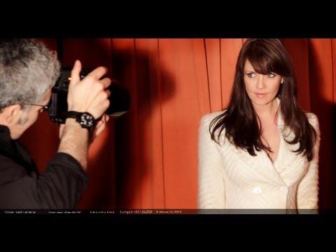 Amanda Tapping vs. Dennys Ilic  Behind the s Photoshoot part I