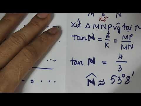 BT về tỉ số lượng giác trong tam giác trong tam giác vuông(3)
