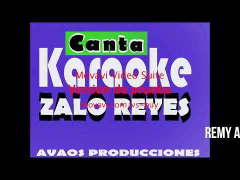 KARAOKE - MOTIVO Y RAZON -  ZALO REYES