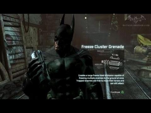 Batman: Arkham City - Hot and Cold (Stolen Freeze Tech) - Side Mission Walkthrough